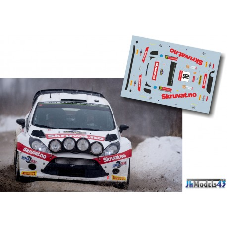 Henning Solberg - Ford Fiesta RS WRC - Rally Sweden 2014