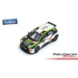 VW Polo R5 - Oliver Solberg - Rally MonteCarlo 2020