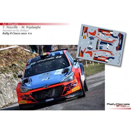 Thierry Neuville - Hyundai i20 R5 Rally2 - Rally Il Ciocco 2021