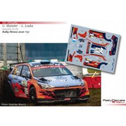 Grégoire Munster - Hyundai i20 R5 - Rally Monza 2020