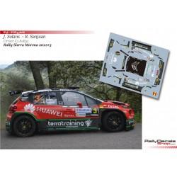 Jan Solans - Citroen C3 Rally 2 - Rally Sierra Morena 2021