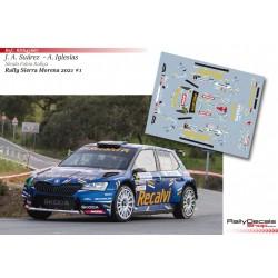 José Antonio Suárez - Skoda Fabia Evo Rally 2 - Rally Sierra Morena 2021