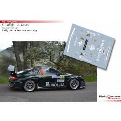 Sergio Vallejo - Porsche 997 GT3 - Rally Sierra Morena 2021