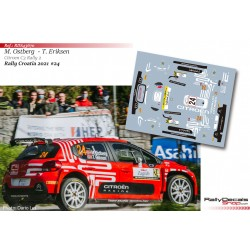 Mads Ostberg - Citroen C3 Rally 2 - Rally Croatia 2021