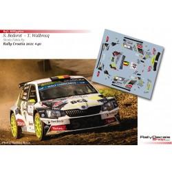Sebastien Bedoret - Skoda Fabia R5 - Rally Croatia 2021