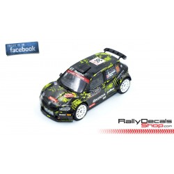 Skoda Fabia R5 Evo - Johannes Keferböck - Rally MonteCarlo 2021