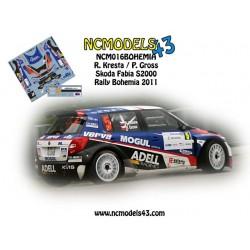 Roman Kresta - Skoda Fabia S2000 - Rally Bohemia 2011