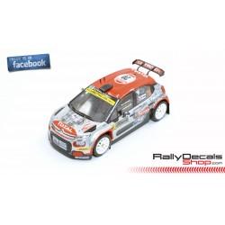 Citroen C3 R5 - Mads Ostberg - Rally Montecarlo 2020