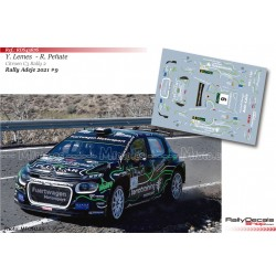 Yeray Lemes - Citroen C3 Rally 2 - Rally Adeje 2021