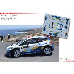Enrique Cruz - Ford Fiesta Rally 2 - Rally Adeje 2021