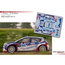 Yoann Bonato - Citroen C3 Rally 2 - Rally Touquet 2021
