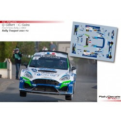 Quentin Gilbert - Ford Fiesta Rally 2 MKII - Rally Touquet 2021