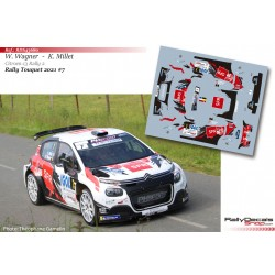 William Wagner - Citroen C3 Rally 2 - Rally Touquet 2021