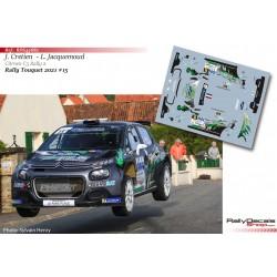 Jéremy Cretien - Citroen C3 Rally 2 - Rally Touquet 2021
