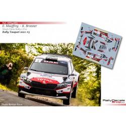 Eric Mauffrey - Skoda Fabia Rally 2 Evo - Rally Touquet 2021