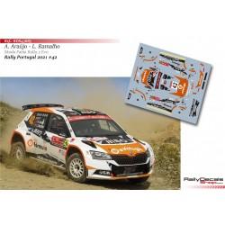 Armindo Araújo - Skoda Fabia Rally 2 Evo - Rally Portugal 2021