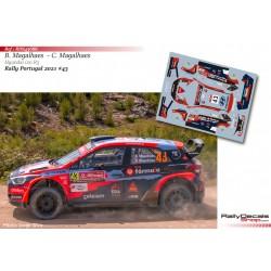 Bruno Magalhaes - Hyundai i20 R5 - Rally Portugal 2021