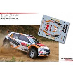 Bernardo Sousa - Skoda Fabia R5 - Rally Portugal 2021