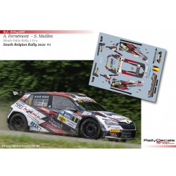 Adrian Fernémont - Skoda Fabia Rally 2 Evo - South Belgian Rally 2021