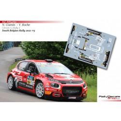 Nicolas Ciamin - Citroen C3 Rally 2 - South Belgian Rally 2021
