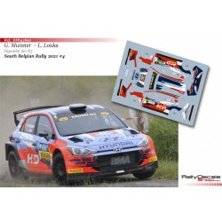 Grégoire Munster - Hyundai i20 R5 - South Belgian Rally 2021