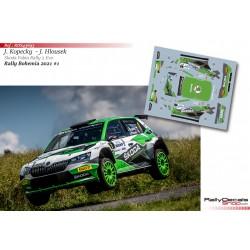 Jan Kopecky - Skoda Fabia Rally 2 Evo - Rally Bohemia 2021