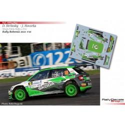 Dominik Stritesky - Skoda Fabia Rally 2 Evo - Rally Bohemia 2021