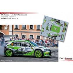 Marco Bulacia - Skoda Fabia Rally 2 Evo - Rally Bohemia 2021
