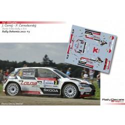 Jan Cerny - Skoda Fabia Rally 2 Evo - Rally Bohemia 2021