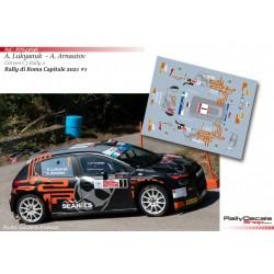 Alexey Lukyanuk - Citroen C3 Rally 2 - Rally di Roma Capitale 2021