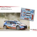 Efren Llarena - Skoda Fabia Rally 2 Evo - Rally di Roma Capitale 2021
