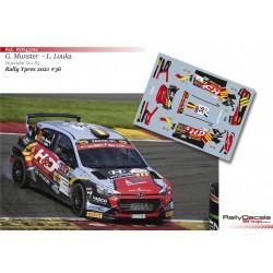 Grégoire Munster - Hyundai i20 R5 - Rally Ypres 2021
