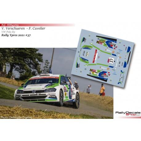 Vincent Verschueren - VW Polo R5 - Rally Ypres 2021