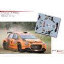 Davy Vanneste - Citroen C3 Rally 2 - Rally Ypres 2021