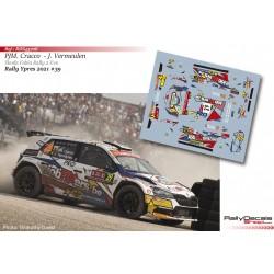 Pieter Jan Michiel Cracco - Skoda Fabia Rally 2 Evo - Rally Ypres 2021