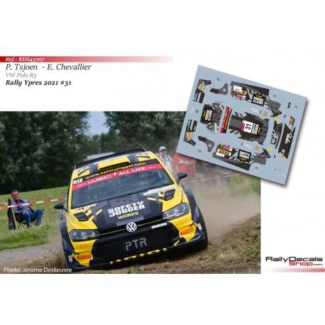 Pieter Tsjoen - VW Polo R5 - Rally Ypres 2021
