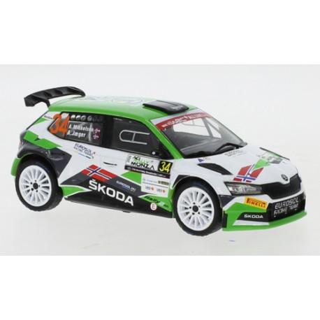 Skoda Fabia R5 Evo - Andreas Mikkelsen - Rally Monza 2020