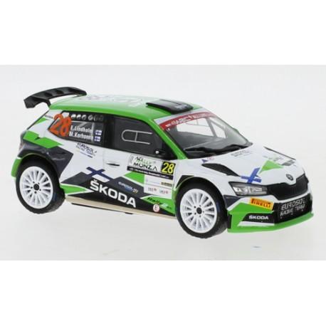 Skoda Fabia R5 Evo - Emil Lindholm - Rally Monza 2020