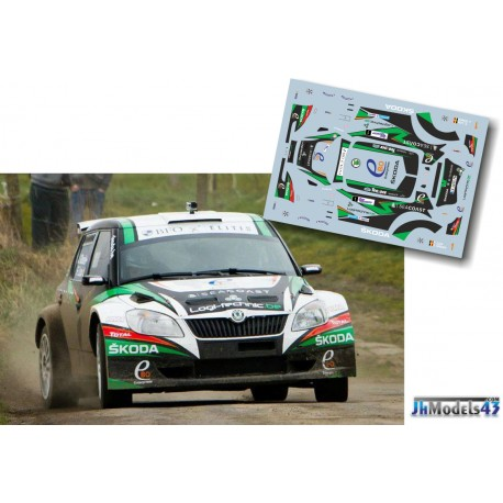 Freddy Loix - Skoda Fabia S2000 - Rally Van Haspengouw 2014