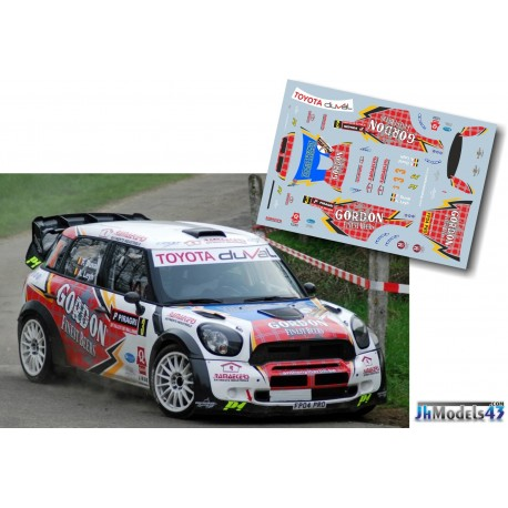 François Duval - Mini John Cooper Works WRC - Rally Wallonie 2013