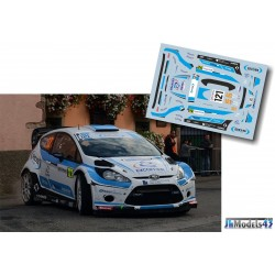 Lionel Baud - Ford Fiesta RS WRC - Rally France Alsace 2013