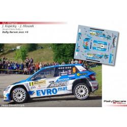 Jan Kopecky - Skoda Fabia Rally 2 Evo - Rally Barum 2021
