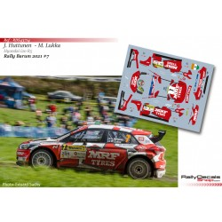 Jari Huttunen - Hyundai i20 R5 - Rally Barum 2021