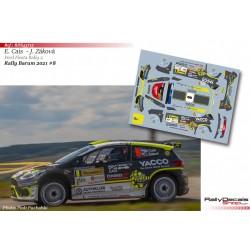 Erik Cais - Ford Fiesta Rally 2 MKII - Rally Barum 2021