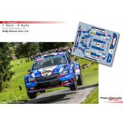 Filip Mares - Skoda Fabia Rally 2 Evo - Rally Barum 2021