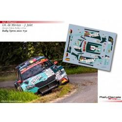 Ghislain de Mevius - Skoda Fabia Rally 2 Evo - Rally Ypres 2021