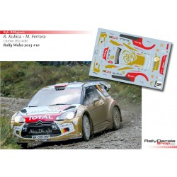 Robert Kubica - Citroen DS3 WRC - Rally Wales 2013
