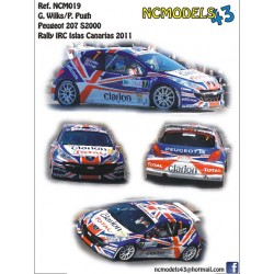 Guy Wilks - Peugeot 207 S2000 - Rally Islas Canarias 2011