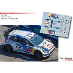 Markku Alen - VW Polo R WRC - Helsinki Battle 2014