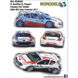 Bryan Bouffier - Peugeot 207 S2000 - Rally Islas Canarias 2011